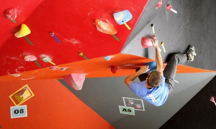 One-Hour Rock-Climbing Lesson and Climbing Pass for One, Two, or Four at Sport Climbing Center (Up to 63% Off)