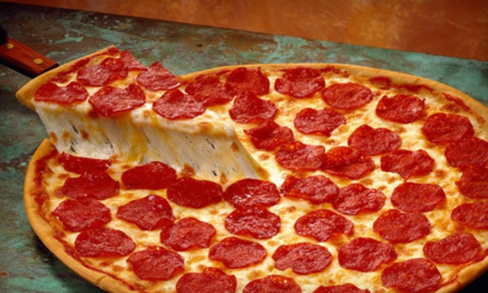 Gianni's Pizza & Wings - Multiple Locations: One or Two Large Pizzas with Breadsticks, Salad, and Soda at Gianni's Pizza & Wings (51% Off)