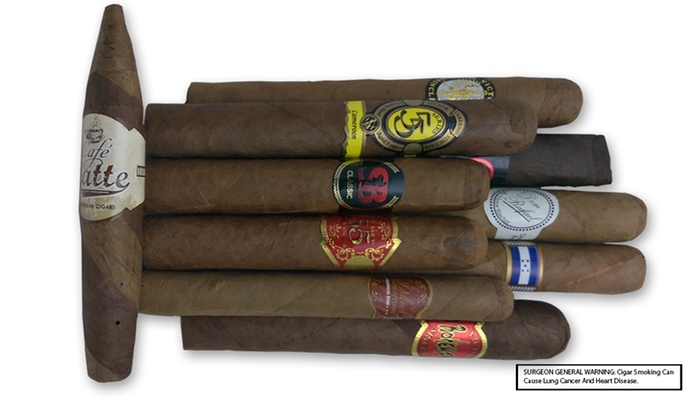 StogieBoys: $22 for a Sampler of 10 Premium Dominican Cigars from StogieBoys ($40 Value)