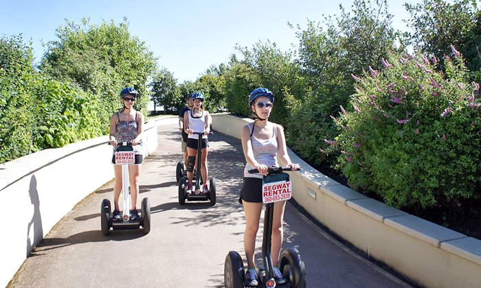 Vancouver Segway Tours - Hudson's Bay: Historic Segway Tour for One or Two from Vancouver Segway Tours (Up to 41% Off)
