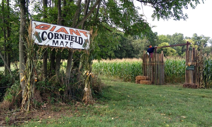 Ridgefield Farm - Ridgefield Farm: Haunted Maze and Hayride for Two, Four, or Six at Ridgefield Farm & Orchard (Up to 59% Off)