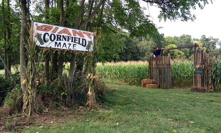 Haunted Maze and Hayride for Two, Four, or Six at Ridgefield Farm & Orchard (Up to 59% Off)