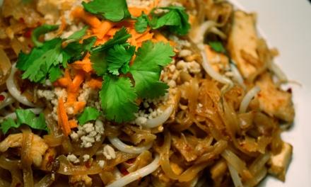 $12 for $20 Worth of Thai Cuisine at Basil Restaurant