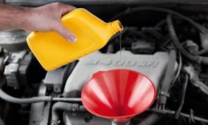 CT Auto Repair & Tires: One or Three Oil Changes with Inspections at CT Auto Repair & Tires (Up to 54% Off)