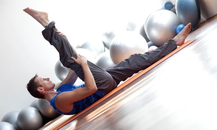 Morning Vinyasa Blast - Los Angeles: Three Yoga Classes at LA Maverick Yoga For Men (75% Off)
