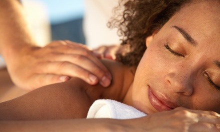 $53 for One-Hour Sound and Hot-Stone Massage or a One-Hour Relaxation Massage from Ocian Flo ($100 Value)