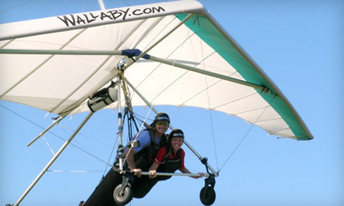 Wallaby Ranch - Haines City: Tandem-Glider-Flight Package with T-Shirts for One or Two at Wallaby Ranch in Davenport (Up to 45% Off)
