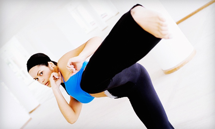 Women Kickin It - Lodi: 10 Women's Kickboxing Classes or One Month of Unlimited Classes at Women Kickin It (Up to 87% Off)