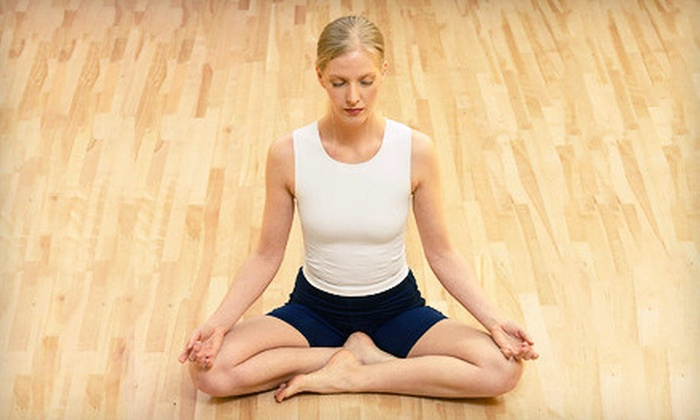 Naam Yoga AZ - The Groves: 10 or 20 Yoga Classes, or One Month of Unlimited Yoga Classes at Naam Yoga AZ (Up to 76% Off)
