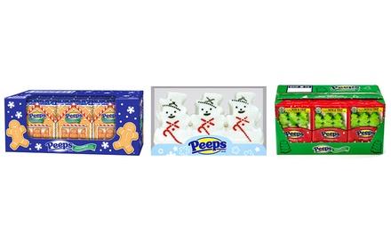 Peeps Gingerbread Men, Snowmen, or Trees Marshmallows (24ct.)