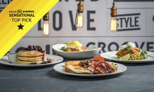 Groove Train Southland: Breakfast with Orange Juice for Two ($19) or Four People ($35) at Groove Train Southland (Up to $88 Value)