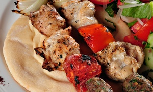 The Greek House Grille: Greek and American Cuisine at The Greek House Grille (Up to 45% Off). Two Options Available.