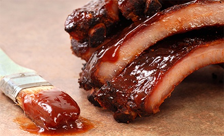 $20 for $40 Worth of Baby-Back Ribs and Chicago-Style Barbecue at Chicago Ribs