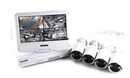 Kit videosorveglianza con telecamere digitali in alta definizione Smart WiFi 4 720 M10W Skynet con spedizione gratuita