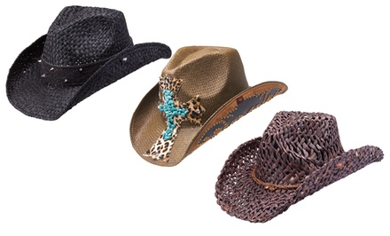 groupon daily deal - Peter Grimm Cowboy Hat. Multiple Styles and Colors. Free Returns.
