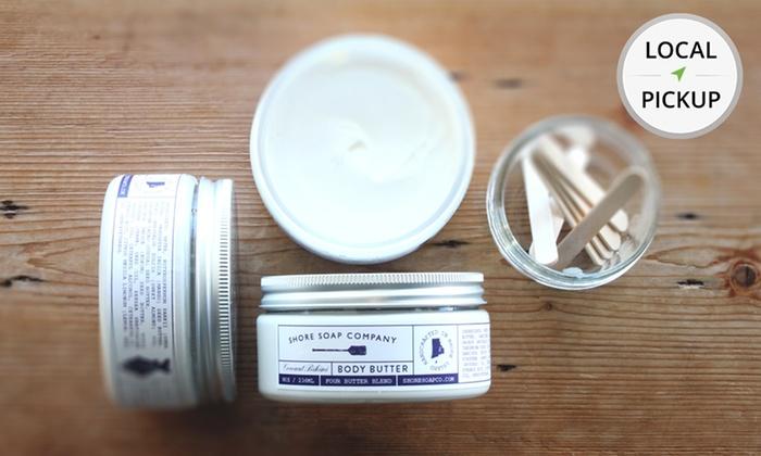 Shore Soap Company - Newport: Coconut Bikini Body Butter; 8 Oz. Pick Up in Store at Shore Soap Company.