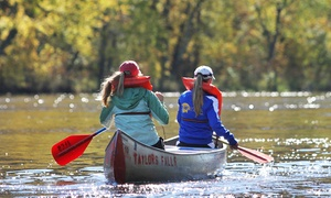 Taylors Falls Canoe & Kayak Rental: Canoe or Kayak Rental at Taylors Falls Canoe & Kayak Rental (Up to 45% Off). Two Options Available.
