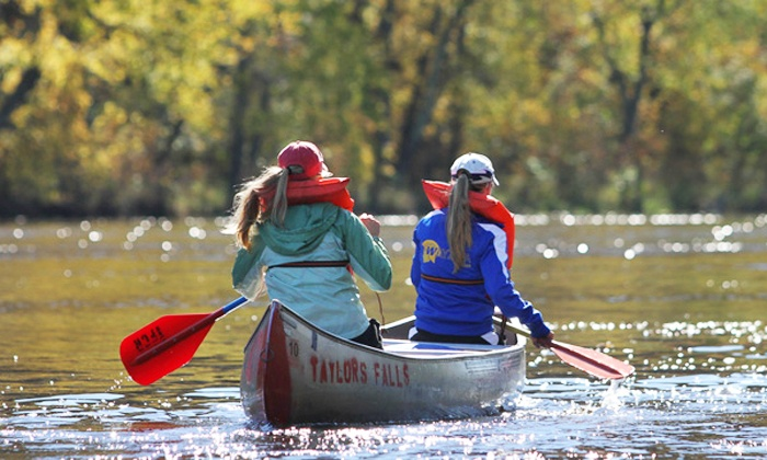 Taylors Falls Canoe & Kayak Rental - Taylors Falls: Canoe Rental for Two at Taylors Falls Canoe & Kayak Rental (Up to 45% Off)