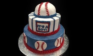 Italian Peoples Bakery: $18 for a Custom Cake at Italian Peoples Bakery (Up to  $29.75 Value)