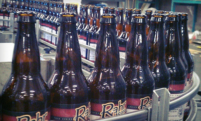Rahr & Sons Brewery - Fort Worth: $ 30 for a VIP Tour & Beer-Education Class on Select Tuesday Evenings at Rahr & Sons Brewing Company ($ 60 Value)
