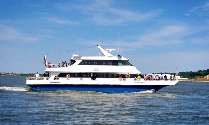 DC Harbor Cruises - Southwest Waterfront: Springtime Harbor Cruise or Happy-Hour Cruise for One at DC Harbor Cruises (50% Off)