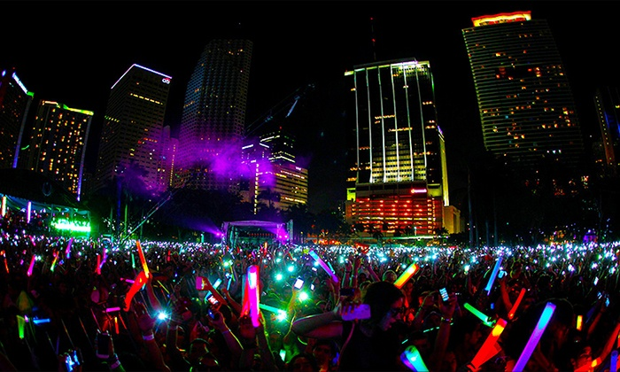 Night Nation Run - Toyota Park: $29 for Night Nation Run - Running Music Festival 5K Entry on October 11th ($60 Value)