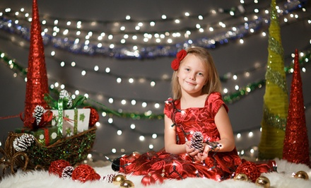 $45 for a Family Christmas Photo Shoot with Online Gallery at Exclusive Moment Photography ($169 Value)