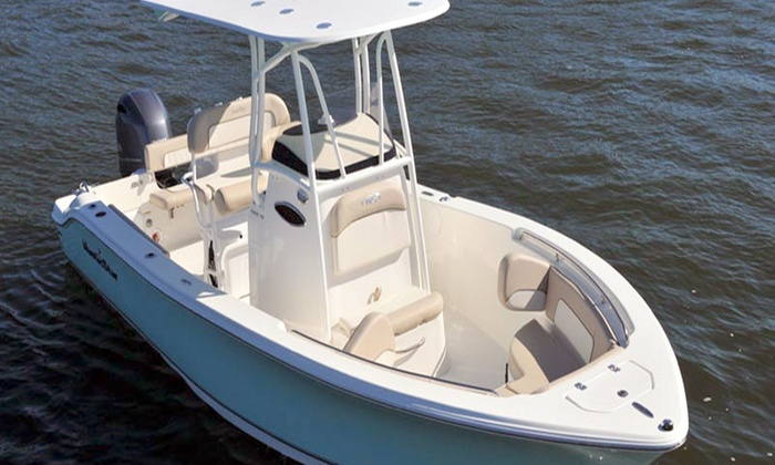 ARBOAT RENTALS - Multiple Locations: 4-, 6-, or 8-Hour Boat Rental with Captain for Up to Six from AR Boat Rentals (Up to 50% Off)