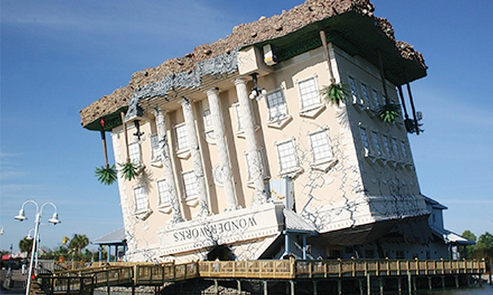 WonderWorks Myrtle Beach - Soar & Explore Zip Line & Ropes Course: $23 for a Visit to Family Attraction for Two at WonderWorks Myrtle Beach (Up to $45.98 Value)