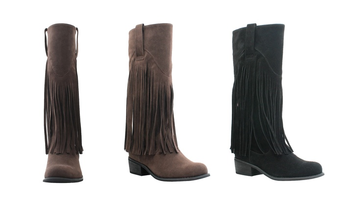 Olivia Miller Liberty Women's Fringe Boots