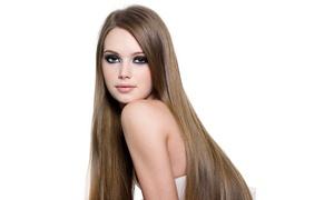 Alchimia Benessere: Seduta di bellezza per capelli con taglio, colore, trattamento e piega da Alchimia Benessere (sconto fino a 72%)
