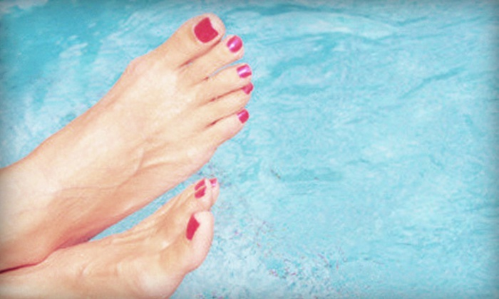 Matisse Hair - Northeast Coconut Grove: Standard or Spa Mani-Pedi at Matisse Hair (Up to 51% Off)