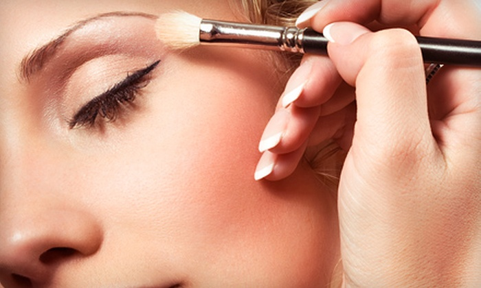 Kristie's Hair Design - Columbia: $29 for 60-Minute Full-Face Makeup Application and False Lashes at Kristie's Hair Design ($115 Value)
