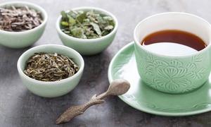 Tee Set: Wertgutschein über 43,20 €, 86,60 € oder 129,60 € anrechenbar auf Tee-Sets mit verschiedenen Sorten von Tee-Auszeit