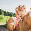 Balade à poney avec préparation et brossage