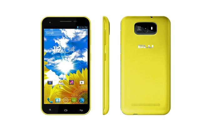 blu studio 55 dualsim android smartphone with 4gb gsm