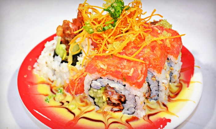 Enso Revolving Sushi Bar - Downtown: Sushi for Two or More at Enso Revolving Sushi Bar (Half Off)
