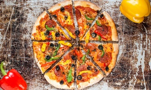 Apart Pizza Company: $22 for $40 Worth of Hand-rolled Pizza at Apart Pizza Company