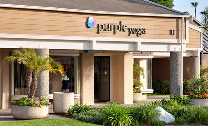 image for $30 for Three Weeks of Unlimited <strong>Yoga</strong> Classes at Purple <strong>Yoga</strong> ($138.75 Value)