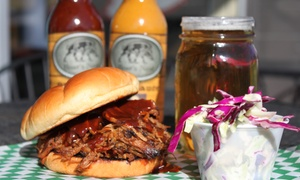 The Boar's Nest: Pulled-Pork, Coleslaw, and Beer for One, Two, or Four at The Boar's Nest (Up to 50% Off)