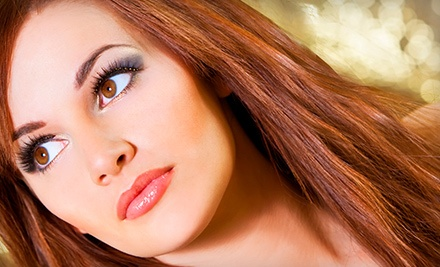 Eyelash Extensions with Optional Touchup, or Brow Design or Lash Tinting at Lucia's Health and Beauty (Up to 60% Off)