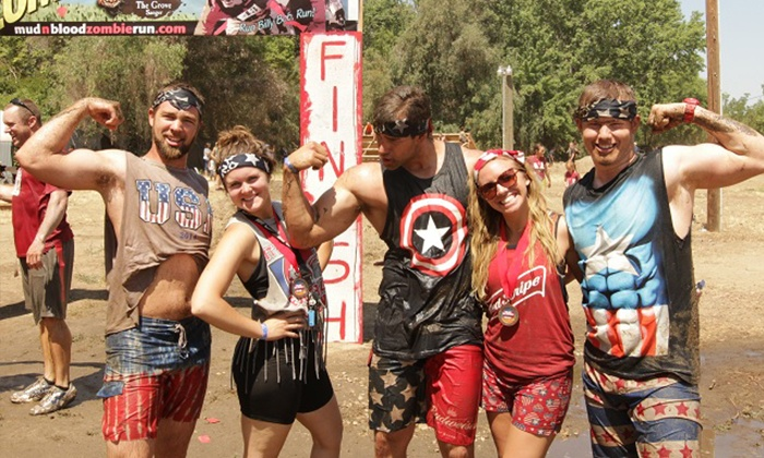 Mud N Blood Zombie Run by Hobb's Grove: One Registration for the 5K Mud 'n Blood Zombie Run at Hobb's Grove on Sunday, May 31 (48% Off)