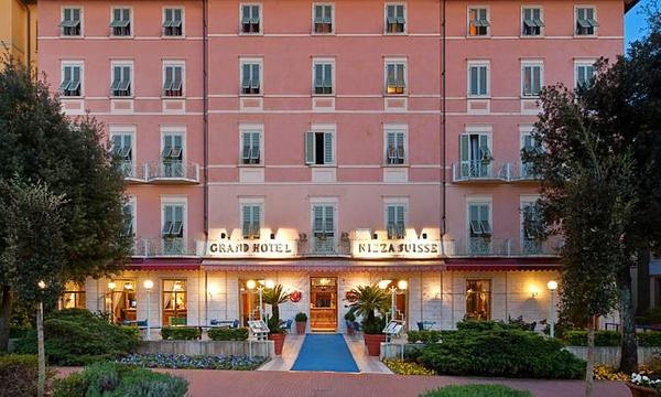Montecatini Terme Grand Hotel Nizza Et Suisse 4 Una Notte Con Colazione E Spa A 79 Piu Cena A 119 Per 2 Persone