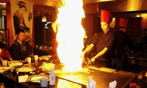 Yokohama Teppanyaki Japanese Restaurant: 10-Course Teppanyaki Japanese Meal for Two or Four at Yokohama Teppanyaki Japanese Restaurant (Up to 57% Off)