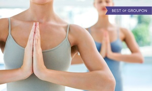 Moksha Yoga Pickering: 10 Yoga Classes or One Month of Unlimited Yoga at Moksha Yoga Pickering (Up to 74% Off)