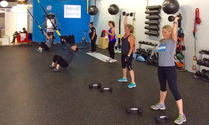 Total Results Training - Lakeview: 5 or 10 Small-Group Fitness Classes with One Personal-Training Session at Total Results Training (Up to 78% Off)