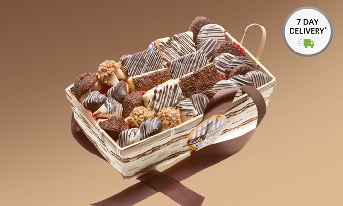 30-Piece Chocolate Gift Basket | Groupon Goods