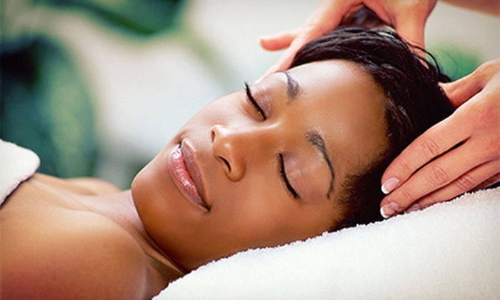 Carrollton Square Salon & Spa - Carrollton Spa: Peppermint Foot Scrub with Massage or Pumpkin Facial for One or Two at Carrollton Square Salon & Spa (Up to 51% Off)