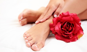Dolcè Nail lounge: Dolce Miel Manicure or Pedicure, Blow-Dry, or Threading Session at Dolcè Nail lounge (Up to 57% Off)