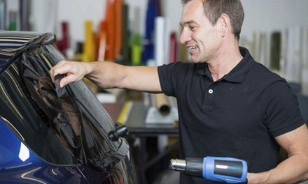 Vehicle Window Tinting at Royal Tinting (Up to 56% Off). Three Options Available.